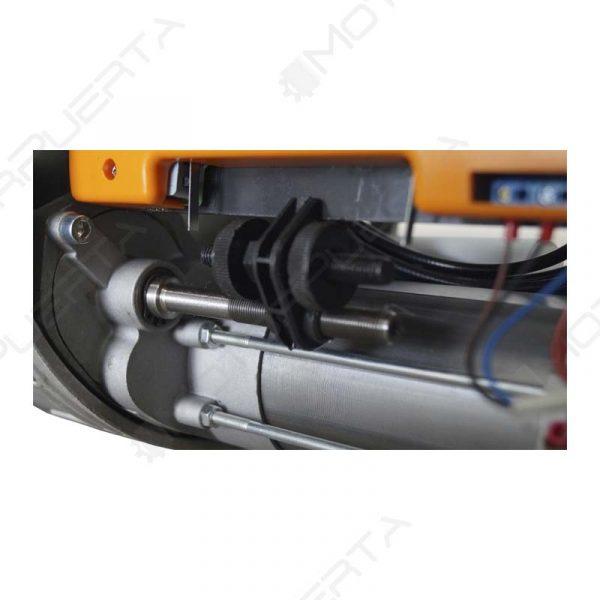 imagen del interior del motor para puerta o persiana enrollable tiger