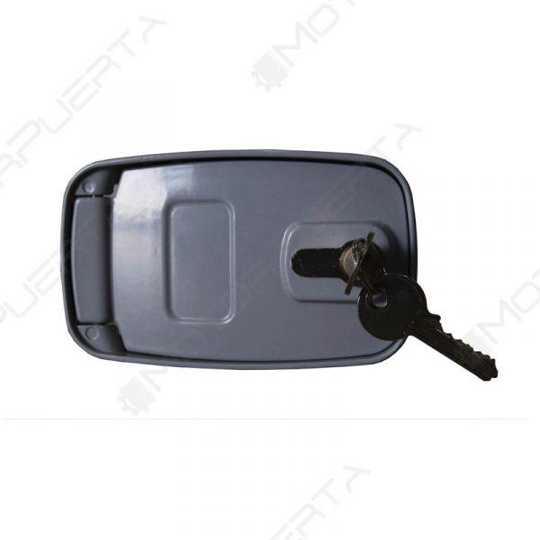 desbloqueo exterior para persiana o puerta enrollable