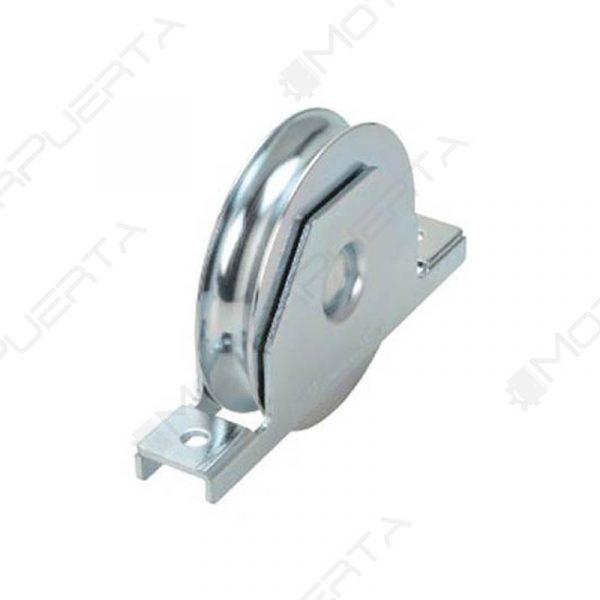 rueda para puerta corredera con soporte